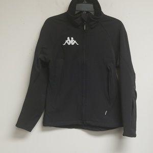 Kappa Black Long Sleeve Jacket Size S